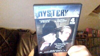 £9.99 • Buy Shock-mystery Liner-doomed To Die-dick Tracy Detective Dvd 4 X 1940s Films