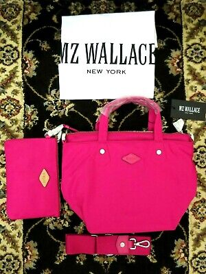 AU196.63 • Buy NWT- MZ Wallace Mini Soho Crossbody Tote Shoulder Bag W/ Dust Bag ~ Dragon Fruit