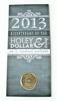 AU15 • Buy 2013 $1 Holey Dollar C Mint Mark Uncirculated Specimen Coin. Visitors Gallery!