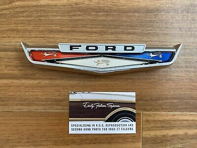 AU139.75 • Buy New Repro XL XM Ford Falcon Delivery Van Wagon Tailgate Badge Squire Suit XK XP