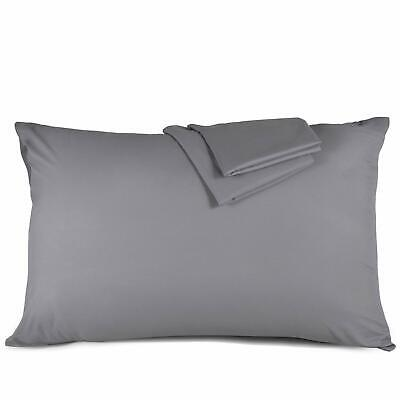 2 Luxury Pillowcases 50cm X 75cm Victoria London Percale Egyptian Collection