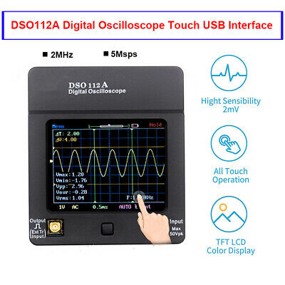 DSO112A Digital Oscilloscope Handheld Storage Wave Testers Multimeter 2MHz 5Msps • 47.99£