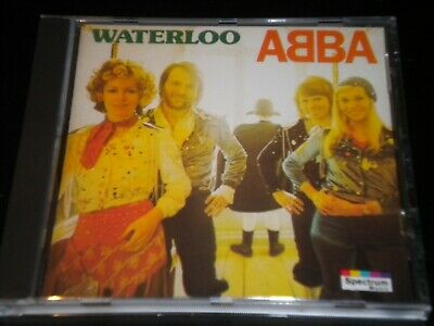 ABBA - Waterloo - Iconic CD Album - 1993 Karussell Music - 11 Greatest Hits • 4.99£