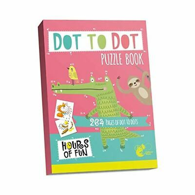 Dot To Dot Childrens Kids Childs Colouring Book Drawing Art Pattern 264 Pages • 3.49£
