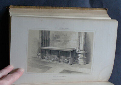 HISTORICAL & DESCRIPTIVE GUIDE TO YORK CATHEDRAL & ANTIQUITIES By Geo Poole 1850 • 45£