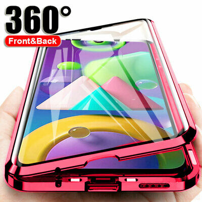 360° Magnetic Case For Huawei P30/P20 Pro /Lite FULL Double Tempered Glass Cover • 6.75£
