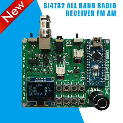 SI4732 All Band Radio Receiver FM AM (MW And SW) SSB (LSB And USB)+Horn+Antenna • 27.99£