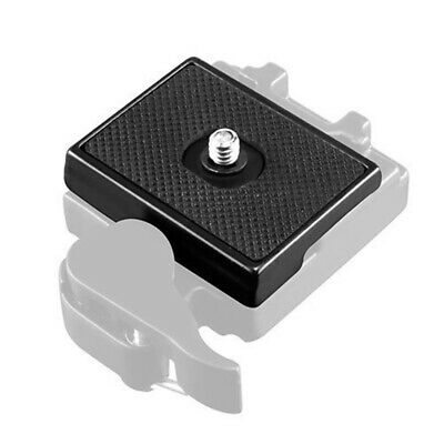 £4.69 • Buy Quick Release Plate With 1/4  Adapter Screw For Manfrotto 3157N Tripod Ballhead