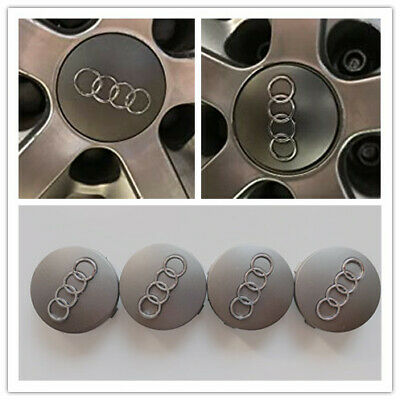 $ CDN12.49 • Buy 4PCS Wheel Center Caps Fit For Audi Emblem Logo 60mm Wheel Hub Caps For Audi