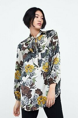 AU45 • Buy ZARA Womens Size XS Or 8 / US 4 Print Blouse Top