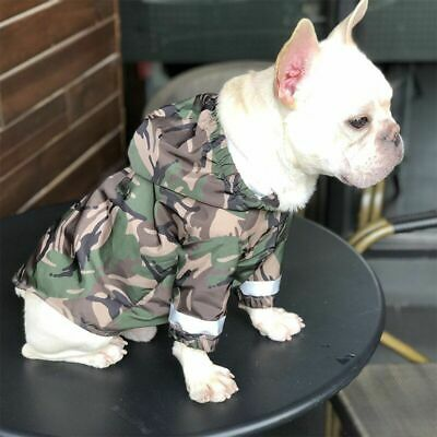 £20.94 • Buy Dog Hoodie Fashion Winter Pet Cotton Warm Clothes 4 Legs Coat Jacket Small Puppy