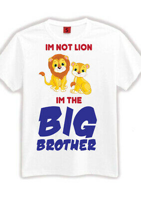 Big Brother T Shirt I'm Going To Be A Kids Children T Shirt Size 1 2 3 4 5 6 7 • 4.99£