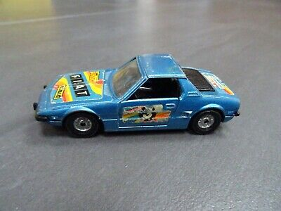 £4 • Buy Corgi Toys No. 306 - Fiat X/19 - Blue Colour - With Opening Doors + Engine Cover