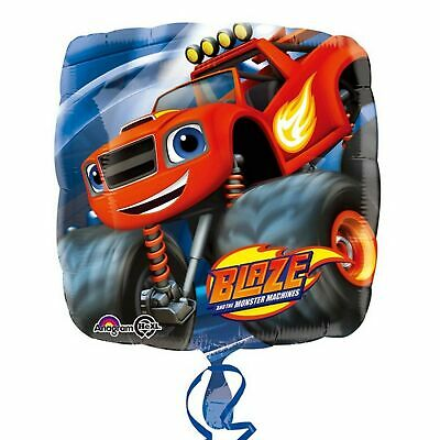 Blaze & The Monster Machines Anagram 18 Inch Square Foil Balloon SG7720 • 7.55£