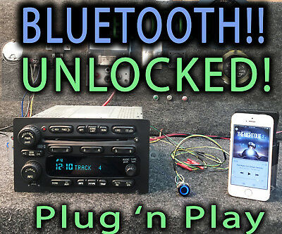 $350 • Buy GMC Chevy Truck 03-05 Radio Stereo 6 Disc CD Upgraded W Bluetooth Music 15196055