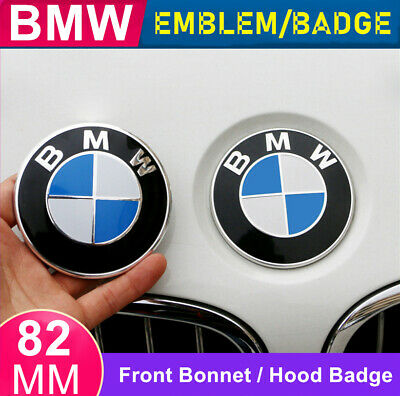 AU12.99 • Buy 1X BMW Front Hood Bonnet Badge Caps Cover Emblem 82MM With BMW Logo Brand New