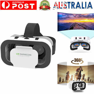 AU18.29 • Buy Virtual Reality 3D VR Glasses Headset Box Helmet For IPhone And Android Phone