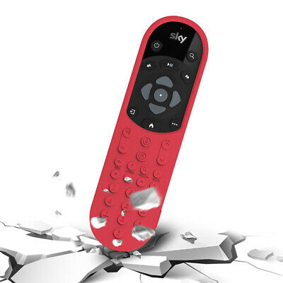 £6.05 • Buy Soft Cover Case Silicone For Sky Q With Voice Function Remote Control Newest_ZT