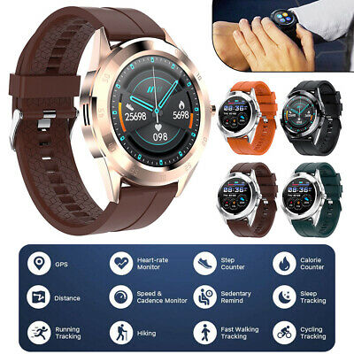 AU30.45 • Buy Waterproof Smart Watch Bluetooth Call Heart Rate Monitor For Android IPhone