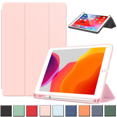 AU17.85 • Buy For Apple IPad Shockproof Smart Leather Flip Stand Case Cover With Pencil Holder