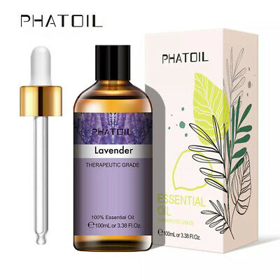 AU23.99 • Buy Essential Oils For Humidifier Aroma Diffuser Aromatherapy 100ml Lavender Oil Au