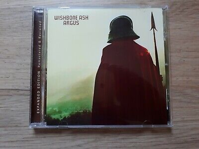 Wishbone Ash Argos CD Remastered & Revisited Expanded Edition • 6£