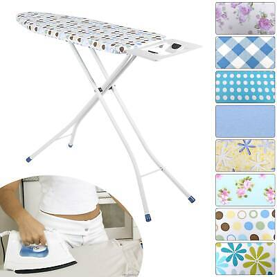 Highlands Deluxe Wide Metal Ironing Board Iron Rack 10Step Height Adjustable New • 11.99£