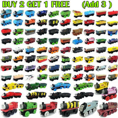 Various The Tank Engine Tender Wooden Magnetic Railway Train Car Toy Kids Gift' • 3.69£