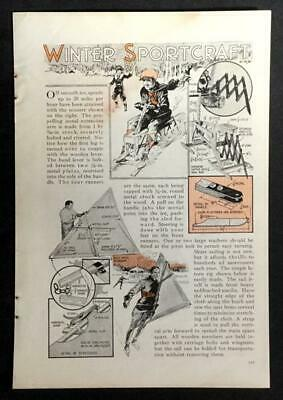 $5.99 • Buy Irish Mail Ice Scooter & Skate Sail 1933 How-to Build PLANS