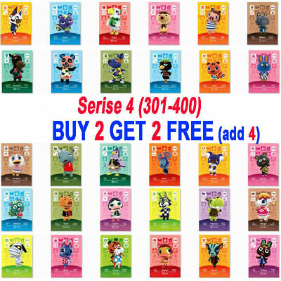 AU8.49 • Buy Animal Crossing New Horizons  Amiibo Card NS Switch 3DS Game Card Gift Series 4