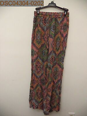 AU87.25 • Buy Pre-Owned - Women's Tigerlily Wide Leg Pants, Colorful, US 4, 29  Inseam