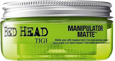 Tigi Bed Head Styling Manipulator Matte Wax 57.5g For All Hair With Gift Bag • 12.49£