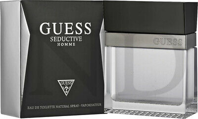 Guess Seductive Pour Homme 100ml Eau De Toilette Spray For Him With Gift Bag • 20.01£