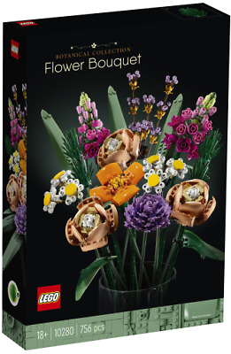 AU109.95 • Buy Brand New Lego Creator Botanical Collection Flower Bouquet 10280