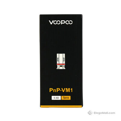 Voopoo Pnp-vm1 Mesh Coils 0.3  For  Vinci X /vinci / Vinci R / Pack Of 5 Uk • 9.75£