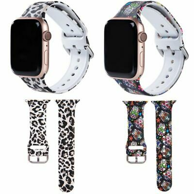 $ CDN7.69 • Buy Sports Silicone Ladies Strap For Apple Watch Band Series 1-6 44mm 42mm 40mm 38mm