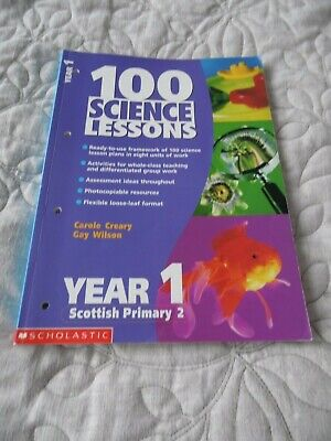 100 Science Lessons For Year 1 By Gay Wilson, Carole Creary (Paperback, 2001) • 5£