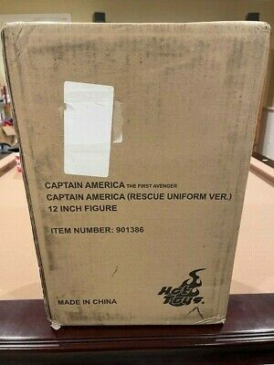 $ CDN886.26 • Buy Captain America Rescue Uniform Version Hot Toys Exclusive ...MINT SEALED RARE