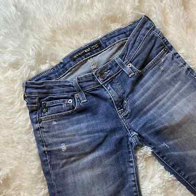 $ CDN50.05 • Buy Big Star Rikki Low Rise Women's Size 25 Distressed Ankle Cropped Jeans 28  Waist