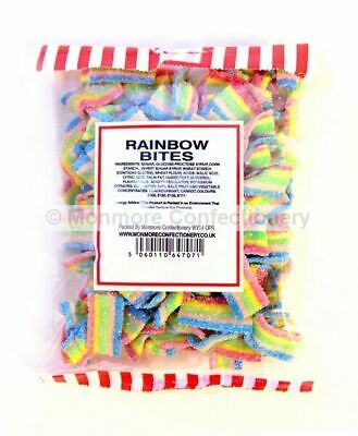 Fizzy Rainbow Mini Belts Sweets (monmore) 200g 65 • 3.99£