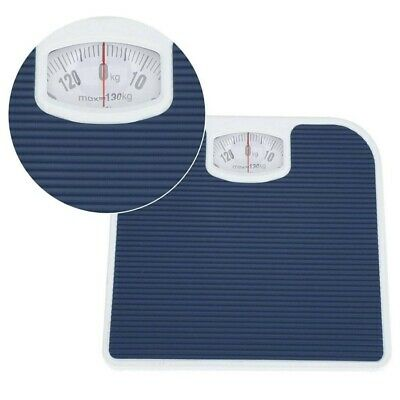 Accurate Mechanical Dial Bathroom Scales Weighing Scale Body Weight Blue • 12.79£
