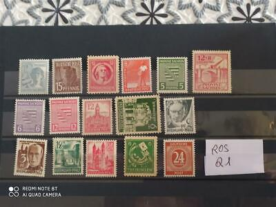$ CDN3.02 • Buy Lot Stamps Collection Germay Occupation Zone Russia + France Mnh** (mondo Ros Q1