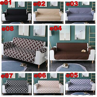 AU26.99 • Buy Sofa Covers 1/2/3/4 Seater High Anti-slip Lounge Slipcover Protector Couch Cover