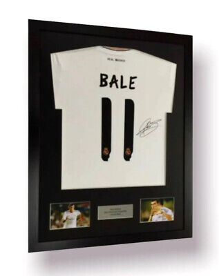 £48.99 • Buy Frame For Any Signed Football Shirt & 2 Photo Cutouts Plus Personalised Plaque