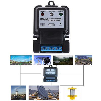 AU7.99 • Buy 6V 12V 10A Auto Solar Panel Charge Controller Battery Charger Regulator PWM _A
