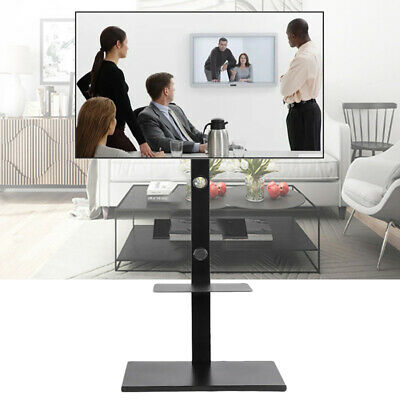 TV Floor Stand Mount Conference Display W/Camera AV Shelf F 32 40 42 50 55 65 In • 59.94£