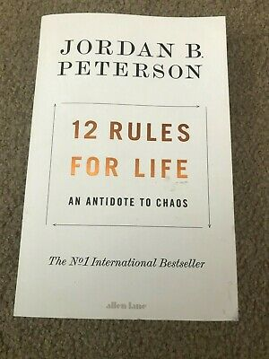 AU19.99 • Buy Jordan B Peterson 12 Rules For Life An Antidote To Chaos SC Used Good