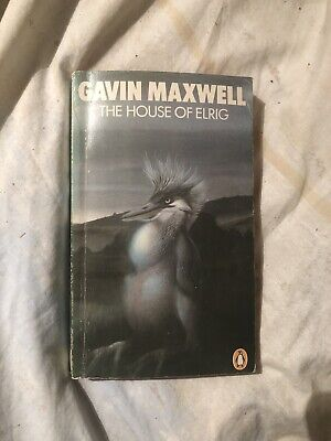 Gavin Maxwell The House Of Elrig Penguin Book Paperback Vintage Illustrated • 11.90£
