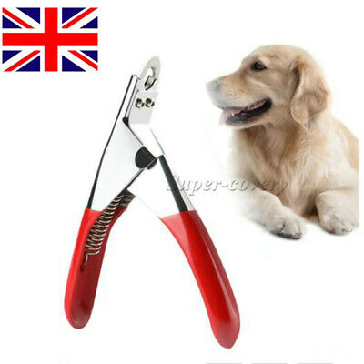 £3.57 • Buy Dog Cat Nail Toe Claw Clippers Scissor Trimmer Shear Cutter Pet Grooming Tool