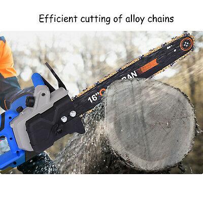 Electric Chainsaw Garden Tools 2600 W, 40 Cm Blade Corded Aluminum • 59.99£